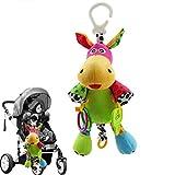 STOBOK Baby Kinderbett Rasseln Greifling Autositz Kinderwagen Spielbogen Anhänger Kinder Krippe Spielzeug