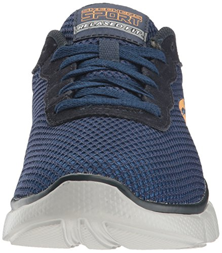 Skechers Equalizer 2.0-Arlor, Sneakers Basses Homme Bleu (Nvy)