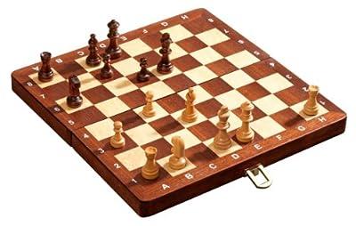 Philos- 2710 - Jeu d'échecs De Luxe - magnétique - Champ de 30 mm
