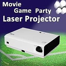 NIERBO Proyector láser 3D 1080p Full HD láser DLP Home Theater Proyector 3000 lúmenes Android 4.4 Bluetooth HDMI WIFI proyector