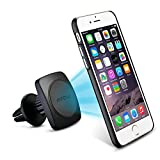 Mpow Grip Magic 360 Degree Universal Air Vent Car Mount Holder with Built-in Metal Plate iPhone 6/6S/SE Case and Two Adhesive Metal Plates for iPhone 6S/6 Plus,LG,Sony, HTC and Other Smartphones