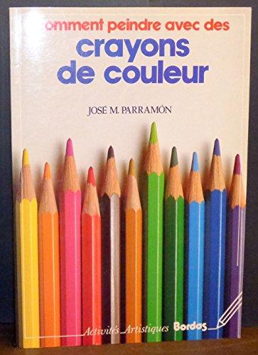 Comment peindre avec des crayons de couleur