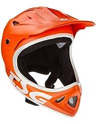 TSG Staten Junior Solid Color - Casco para ciclismo, color naranja, talla XS