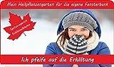 SAFLAX - Anzuchtset - Ich pfeife auf die Erkältung - Mit 2 Samensorten, Gewächshaus, Anzuchtsubstrat, Zellfasertöpfen zum Umtopfen und Anleitung