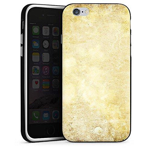 Apple iPhone X Silikon Hülle Case Schutzhülle Stein Look Muster Wand Silikon Case schwarz / weiß