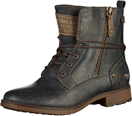 Mustang Damen 1265-505-301 Stiefel Blau(Navy)