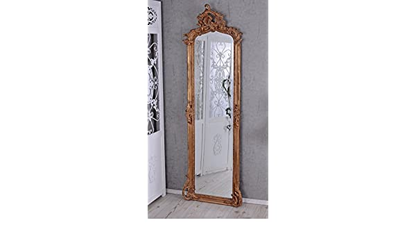 Hallenspiegel Barock Spiegel Antik Garderobenspiegel Ankleidespiegel Wandspiegel
