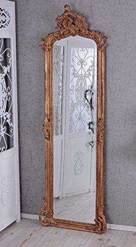 Unbekannt Barockspiegel Spiegel Antik Gold Wandspiegel Barock Hallenspiegel Palazzo Exclusiv