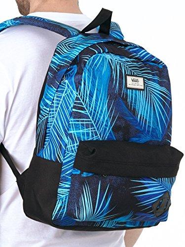 Vans Old Skool Ii Shoulder Bags Blue (black Acid Palm)