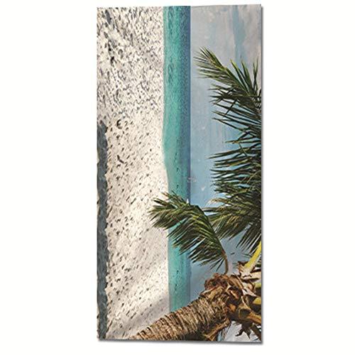 BBQBQ Quadratisches Badetuch Sommer Quadratisches Badetuch für Frauen Multifunktions-Sonnenschutzschal Ocean 150 * 75cm
