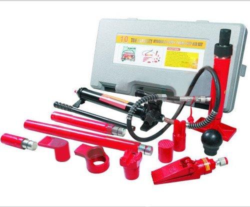 MVPower® Karosseriepresse Karosserie Hydraulik Richtsatz Ausbeulsatz 10T Druckpresse Wagenheber