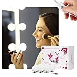 Limerence Spiegelleuchte, Spiegellampe, Schminklicht, Spiegellicht, Make-up Licht, schmink lampe, schminkleuchte für spiegel, mit 10 dimmbaren LED-Glühbirnen für Badezimmerspiegel, Schminktisch (Spiegel nicht enthalten)