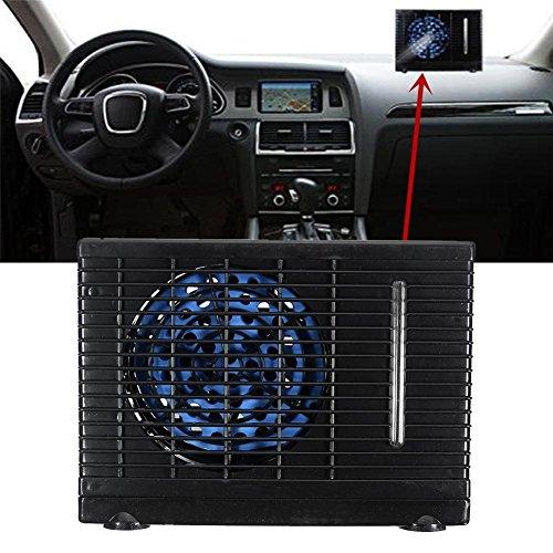 Yunn Aire Acondicionado portátil del Coche 35W, Aire Acondicionado evaporativo DC12V, Aire Acondicionado evaporativo del acondicionador de refrigeración Mini (Negro)