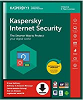 Kaspersky Internet Security 2018- 1 PC, 3 Years (Email Delivery in 2 hours- No CD)