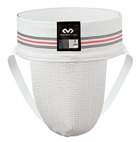McDavid Classic Logo 3110-CL Athletic Supporter, 2-Pack Adult White XX-Large Test