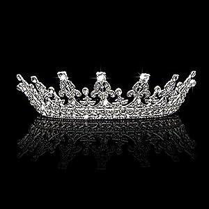 JAGETRADE Trendy Braut Frauen Stirnband Crown Tiara Hochzeit Pageant Prom Haarschmuck Geschenk