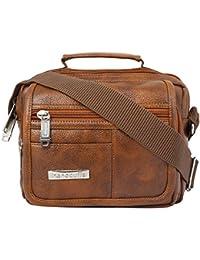 3db518d1b Handcuffs Mens Bag Messenger Bag Leather Shoulder Bags Travel Bag Man Purse  Crossbody Bags for Work