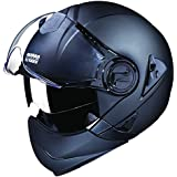 Studds Downtown SUS_DFFH_MBLKXL Full Face Helmet (Matt Black, XL)