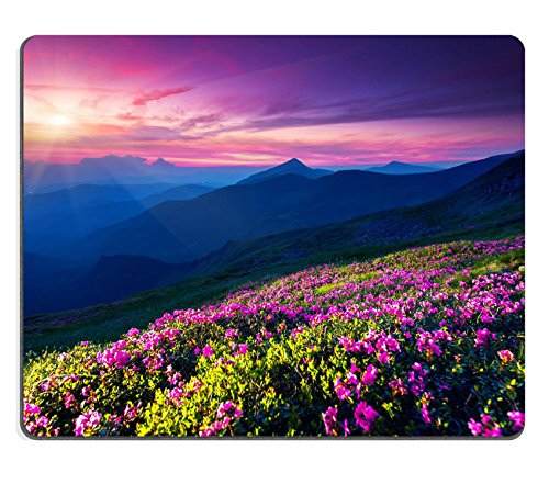 liili-mouse-pad-de-goma-natural-mousepad-magic-rosa-rododendros-flores-en-verano-montana-espectacula