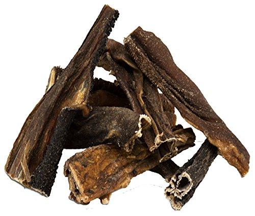 1 kg Rinderpansen getrockneter Pansen Blättermagen vom Rind Hundefutter Kausnack