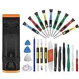 Best Iphone Repair Kits - Repair Tool Kit 25pcs Precision Screwdriver Magnetic Set Review