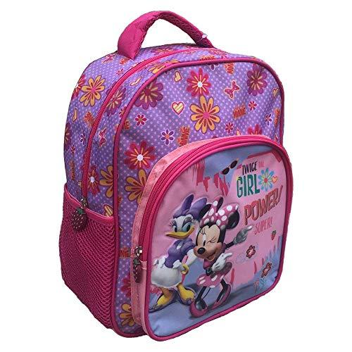 zaino Minnie E E PAPERINA Disney Asilo Borsa Scuola Sagome 3D CM.30 - MIN0451