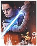 Star Wars: Die letzten Jedi Steelbook [2Blu-Ray]+[Blu-Ray 3D] [Region Free] (Deutsche Sprache. Deutsche Untertitel)
