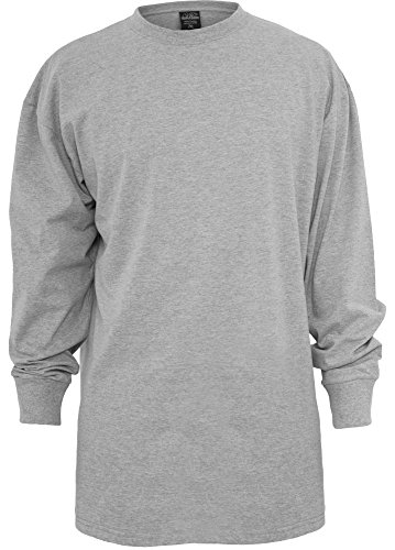 Grau Classic Long Sleeve T-shirt (Urban Classics Herren Longsleeve loose fit grey M)