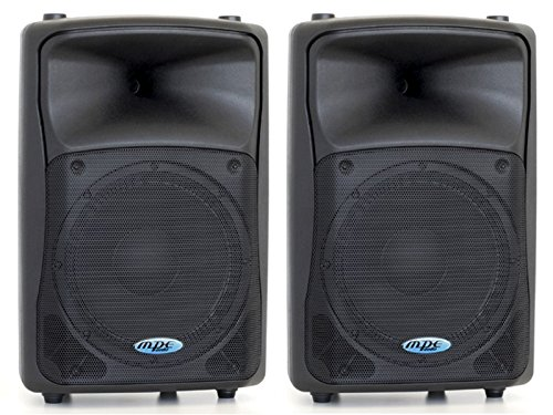 MPE Coppia casse attive bi amplificate professionali made in italy 1400 watt rms woofer 15' 132db spl max: Set base Level 615