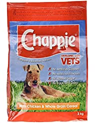 Chappie Complete and Balanced Nutrition with Chicken and Whole Grain Cereal, 3 kg