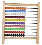 Skillofun Wooden Abacus Junior (10-10), Multi Color