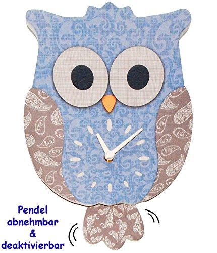Wanduhr - Uhr aus Holz -