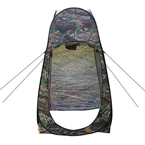 1 Person Reisen Campingzelt, Outdoor Supplies Verlässt Camo Dressing Zelt Bad Mobile Wc Wasserdichten Zelt