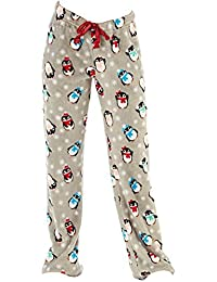 Octave® Ladies Luxury Super Soft Fleece Loungewear Pants Pyjama Bottoms 80d85ee77