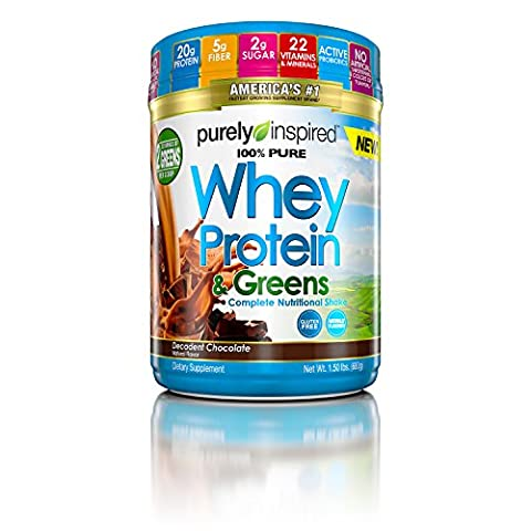 MuscleTech All-in-One Whey Plus Greens Nutrition Powder, Milk Chocolate, 2 Pound