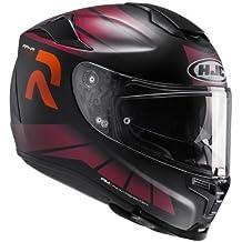 HJC Moto Casco Rpha 70 octar mc7sf, Negro/Rojo