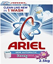 Ariel Powder Laundry Detergent, Touch of Freshness Downy, 2.5KG
