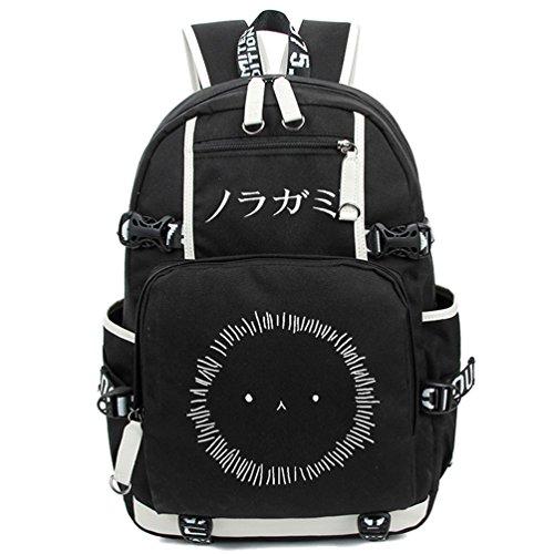Kostüm Figur Sonic - Yoyoshome, leuchtender Rucksack, Anime, Cosplay, Schule, Tasche schwarz Noragami1