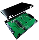 ZTC Himmel 2,5-Zoll-Gehäuse mSATA SSD (halbe oder volle Größe), SATA III Board Adapter - 520MB/s 6GB/s