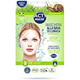 actymask Acty Mask–Maschera Tessuto idrogel alla bave di lumaca