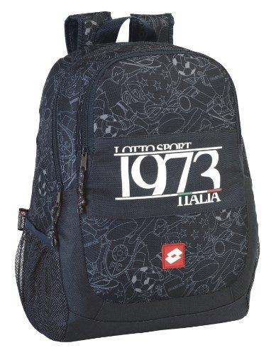 Lotto Sport - Mochila de 44 cm, diseño Italia (Safta 611420665)