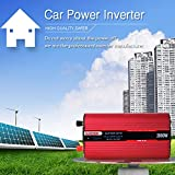 ZMM 2000W Power Inverter DC 12V bis AC 230V Car Voltage Converter Mit 4,2A USB-Ports für Laptop für Laptop, Tablets und Telefone