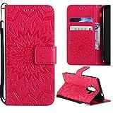 Samsung Galaxy A82018móvil, kingsang piel Carcasa Funda Diseño de búho funda de piel estilo libro para Samsung Galaxy A82018piel Case Cover con Soporte Marrón