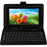 I KALL N1 (512+4GB) Dual Sim (3G+WIFI) Calling Tablet With 2800 Mah Battery Capacity And 1 Year Warranty With Keyboard -Black