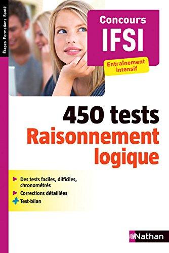 450 tests - Raisonnement logique