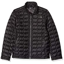 The North Face Thermoball Full Zip Doudoune zippée Garçon, Noir (TNF Black), M