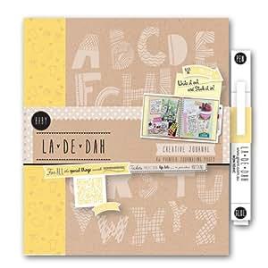 BABY La De Dah Journal pour scrapbooking en Kraft Agenda Créatif-Livre Photo