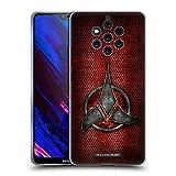 Head Case Designs Officiel Star Trek Empire Klingon Insignes Étui Coque en Gel Molle pour Nokia 9 PureView