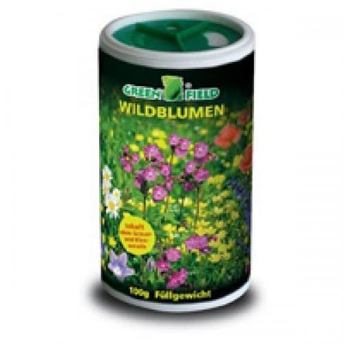 Greenfield Wildblumen aus der Dose 100g, Rasensamen, Rasensaat