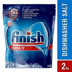 Finish 5X Power Action Dishwasher Salt 2kg